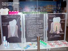 Va DiSalud #Dental Escaparate Farmacia (Farmacia DiSalud Te Cuida) Tags: valencia dental pasta care boca dientes farmacia salud biofilm gingivitis cepillo xerostomia colutorio atencin caries bucal saludbucal cepillodental piorrea saluddental cariesdental mucositis interproximal placabacteriana disalud disaludtecuida farmaciadisalud juanverdeguer