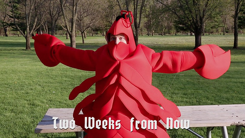 Evil Grin Gift Box Episode 11 - Michaelson's Mouthsome Masterpiece: Lobster Suit