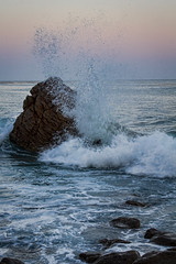 Splash (FS_photos) Tags: ocean california ca camera beach beautiful canon landscape outdoors photography photo photos outdoor malibu malibubeach 28135mmis 60d elpescadorstatebeach 01equipment