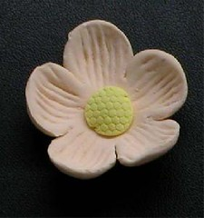 Small Blossom No wire Peach 3cm (sweetinspirationsaustralia) Tags: cupcaketoppers