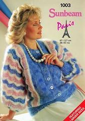 sunbeam_50 (Homair) Tags: vintage fuzzy fluffy mohair sunbeam cardigan