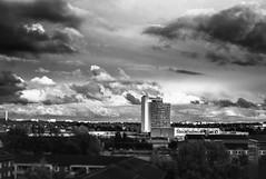 Calm after the storm (c_c_clason) Tags: leica blackandwhite clouds sweden stockholm summicron m8 40mm schwarzweiss summicronc stockholmsmässan leicam8