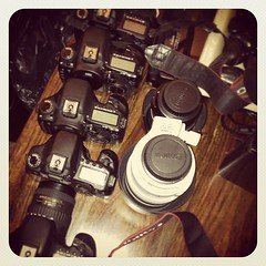 Great time at the 2013 #triplesinvitational time to clean some gear #camera #canon #shoot #tiys (bryan elkus) Tags: square squareformat earlybird iphoneography instagramapp uploaded:by=instagram