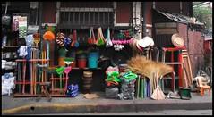 SAN NICOLAS COLOR (martindemo) Tags: corner bucket san philippines lara nicolas manila broom