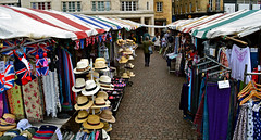 The Hats (Travis Pictures) Tags: city uk cambridge summer england tourism photoshop nikon market britain tourists marketplace cambridgeshire stalls eastanglia cambridgeuniversity cambs cambridgemarket d3100
