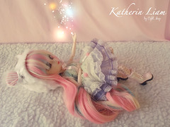 Sparks (light_shop) Tags: cute outfit rainbow doll handmade wig pullip lollipop kiyomi snowwhite obitsu dessita