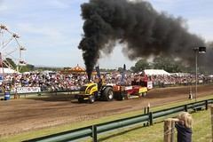 Tractor Pull Great Eccleston 2013 (Taken By Me Photography) Tags: tractor rural pull country great lancashire event takenbyme area rider showcase fayre agricultural stunt fylde tractorpulling showground eccleston greateccleston