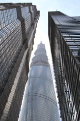 lujiazui pudong shanghai skyscrapers    (Lawrence Wang ) Tags: building skyscraper skyscrapers shanghai  pudong  lujiazui