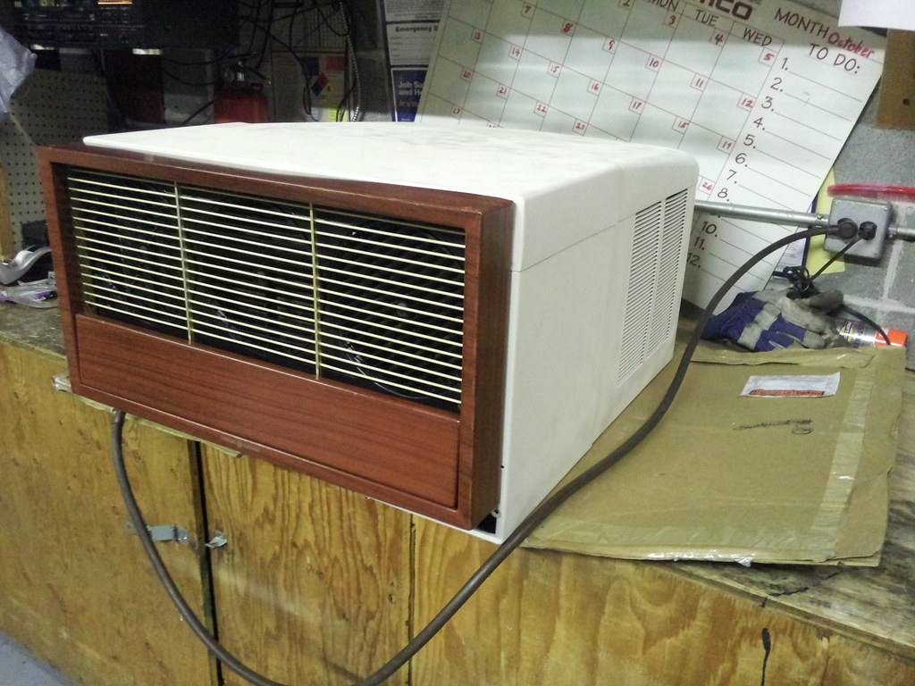 Air Conditioner After Restoration Right Side (The Air Conditioner  #90783B