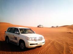 Dubai (littlelittlethingsinlife) Tags: travel sky hot sahara landscape sand asia dubai desert dunes east adventure safari toyota land middle barren cruiser