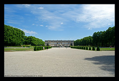 Royal Palace of Herrenchiemsee IV (xlod) Tags: sky cloud tree bayern bavaria himmel wolke palace schloss baum chiemsee herrenchiemsee