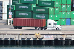(Navymailman) Tags: california port truck los big san angeles pedro rig wheeler 18 of