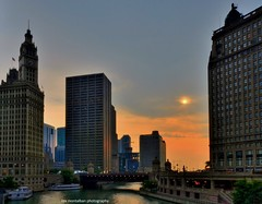 sunrise chicago (Rex Montalban Photography) Tags: chicago sunrise hdr hss rexmontalbanphotography slidersunday