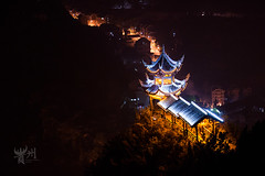 IMG_9404++ (lanych) Tags: china light night canon long guizhou hmong qianhu 1755 zhenyuan xijiang 2013