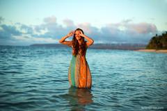 north shore (birzer) Tags: ocean trash hawaii still model dress pacific north shore daniels production natalie 50 12l
