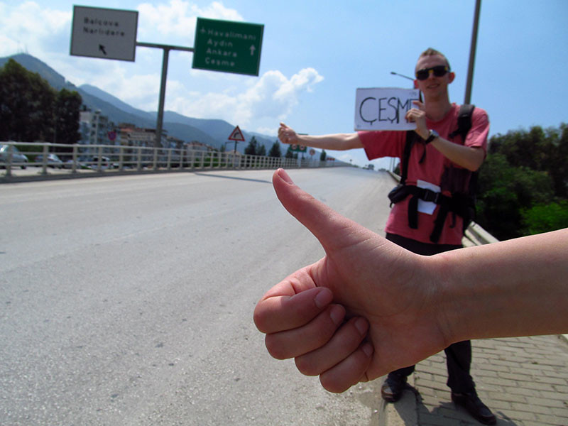 Hitchhiking from Izmir to Cesme by Danwithnoname, on Flickr