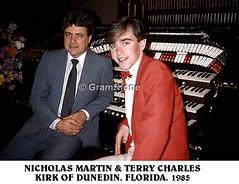 Nicholas Martin. First visit to Kirk of Dunedin. FL. 1985 (5) (gramrfone) Tags: cinema theatre organists