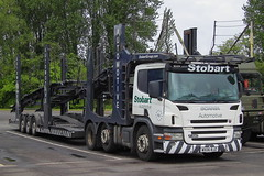 Stobart Automotive : WX06BJZ (Buses and Trucks) Tags: scaniap420 stobartautomotive wx06bjz