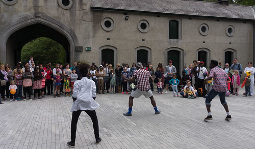 AFRICA DAY 2015 - CELEBRATED TODAY AT FARMLEIGH HOUSE [I REALLY LIKED THE DANCE ZONE] REF-104462