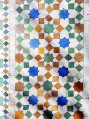 A shade of shadow (Shahrazad26) Tags: zellig zellij mosaic mozaïek marokko morocco maroc fez fès medina fèselbali