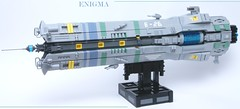 ENIGMA (SweStar) Tags: shiptember 2016 lego scifi ship space spaceship community build exodus enigma carrier