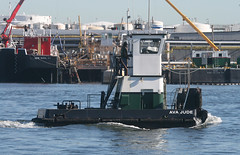 AVA JUDE in New York, USA. August, 2016 (Tom Turner - SeaTeamImages / AirTeamImages) Tags: vessel tug tugboat pushertug smalltug tinytug water watarway channel spot spotting avajude kvk killvankull tomturner statenisland newyork bigapple unitedstates usa nyc marine maritime pony port harbor harbour transport transportation