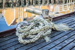 am Hafen (SonjaS.) Tags: seil tau hafen port lofoten norwegen