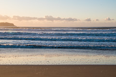 Watching the sun come up at Umina Beach (Merrillie) Tags: uminabeach sand landscape nature australia nswcentralcoast newsouthwales sea earlymorning nsw beach centralcoastnsw umina morning outdoors waterscape sunrise waves water seascape