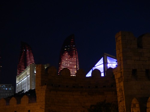 """Flametowers in Baku • <a style=""""font-size:0.8em;"""" href=""""http://www.flickr.com/photos/144983949@N02/30112143110/"""" target=""""_blank"""">View on Flickr</a>"""