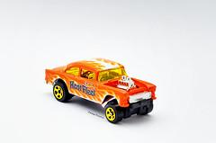 Chevy '55 Bel Air Gasser (Eddy Flame) Tags: gasser chevy hotwheels