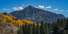 Crested Butte (Mike Ver Sprill - Milky Way Mike) Tags: crested butte colorado landscape mountians mountain fall foliage seasons changing gold yellow aspen trees green pine tree mike versprill michael ver sprill beautiful september amazing gorgeous rt 12 roadtrip road trip travel explore nikon d800 panorama pano