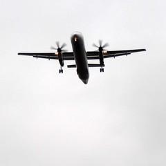 In flight (Navi-Gator) Tags: airplane plane flight transportation square
