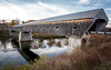 11/1/16 The Cornish-Windsor Bridge (Karol A Olson) Tags: project3662016 cornishwindsorbridge coveredbridge bridge connecticutriver river nov16