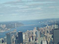 Upper West Side, George Washington Bridge, Aerial View, One World Observatory, New York City (lensepix) Tags: upperwestside georgewashingtonbridge aerialview oneworldobservatory newyorkcity