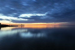 Deale (Jarrett Hendrix) Tags: deale pier beach sunset beautifu beautiful island dealeisland