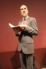 H.P. Lovecraft (Bart D. Frescura) Tags: hplovecraft thomaskuebler guillermodeltoroexhibit lacma color sculpture bdf
