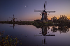 Nieuw-Lekkerland - Kinderdijk (3) (ジェイリー) Tags: nieuwlekkerland kinderdijk 新萊克蘭 小孩堤防 荷蘭 南荷蘭 southholland 戶外 安詳 河 水 風景