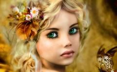 Autumn Sprite (Bel's World) Tags: daz sprite fairy pixie fantasy magic sweet cute autumn