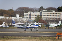 A SMALL AIRPORT, SOME PARKS AND CLOUDS - LIII (Jussi Salmiakkinen (JUNJI SUDA)) Tags: chofu tokyo japan cityscape park airport sky cloud aircraft wood airplane lateautumn earlywinter landscape