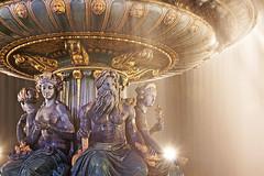 Paris (Noir et Blanc 19) Tags: paris placedelaconcorde nuits nightlights fontaines sony a77