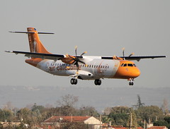 Air Caldonie. FIRST FLIGHT. NEW LIVERY (Jacques PANAS) Tags: air caldonie atr 72600 72212a fwwer msn1380 fozli