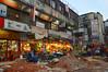 Old shops (Francisco Anzola) Tags: dhaka bangladesh gulshan mess chaos people shops stores cables