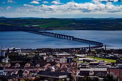 Tay Rail Bridge (Brian Travelling) Tags: dundee city cityscape cityofdiscovery tay rivertay tayrailbridge historic scotland scenery scenic scottish water pentaxkr pentax pentaxdal peaceful