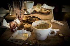 Yummy breakfasts don't last very much (nereaoroquieta) Tags: breakfasts desayuno france burdeos bordeaux cafetería yummy food coffee café
