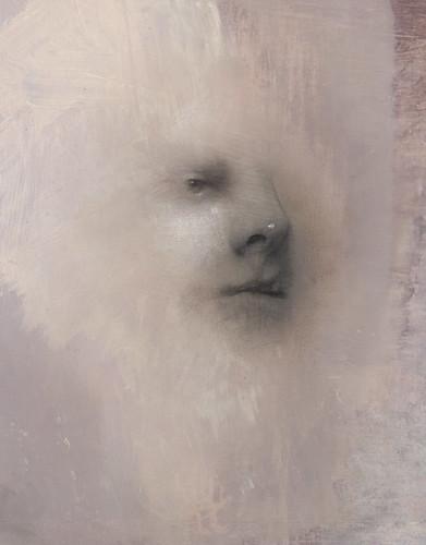 Gavin Tremlett 'Hybris 8', 2016 Charcoal, graphite, oil on paper 43x33cm