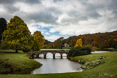 Towards The Pantheon (DanRansley) Tags: danransleyphotography nationaltrust stourhead wiltshire autumn fall lake landscape seasons sky trees water
