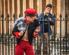 Time for a quick fag ! (FotoFling Scotland) Tags: edinburgh fringe photographer camera fag fagbreak performer shooter streetperformer streettheatre fotoflingscotland