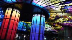 P1040124 (Nog-Z) Tags: 台湾 高雄 カオシュン 地下鉄 駅 taiwan kaohsiung subwaystation 美麗島駅 ステンドグラス formosaboulevardstation stainedglass