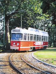 Once upon a time - Belgium - Antwerpen / Anvers (railasia) Tags: belgium flanders antwerpen anvers miva metergauge routenº2 motorcar pcc infra terminus singletrackloop eighties