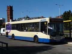 Avon Buses 108 (AE08DKO) 02102016 (Rossendalian2013) Tags: avonbuses smithlewisprenton bus birkenhead woodside busstation adl alexanderdennis enviro200 dart4 mcv evolution ae08dko
